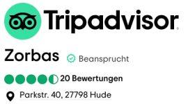 Zorbas Tripadvisor top Bewertungen